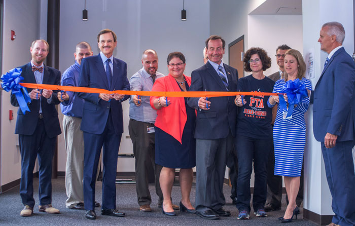 Berea-Midpark Middle School ribbon cutting marks school's evolution